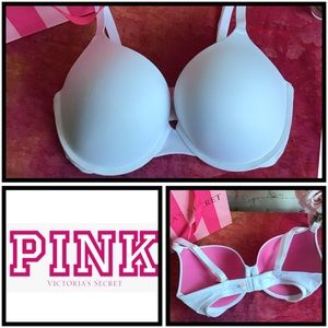 PINK VS | Wear Everywhere Push Up Bra | 34DD